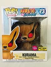 Funko Pop Animation Shonen Jump Naruto Shippuden Kurama Flocked Exclusive 73