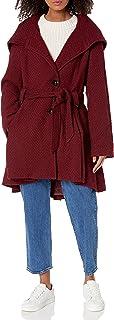 معطف نسائي من الصوف وحيد الصدر من ستيف مادين