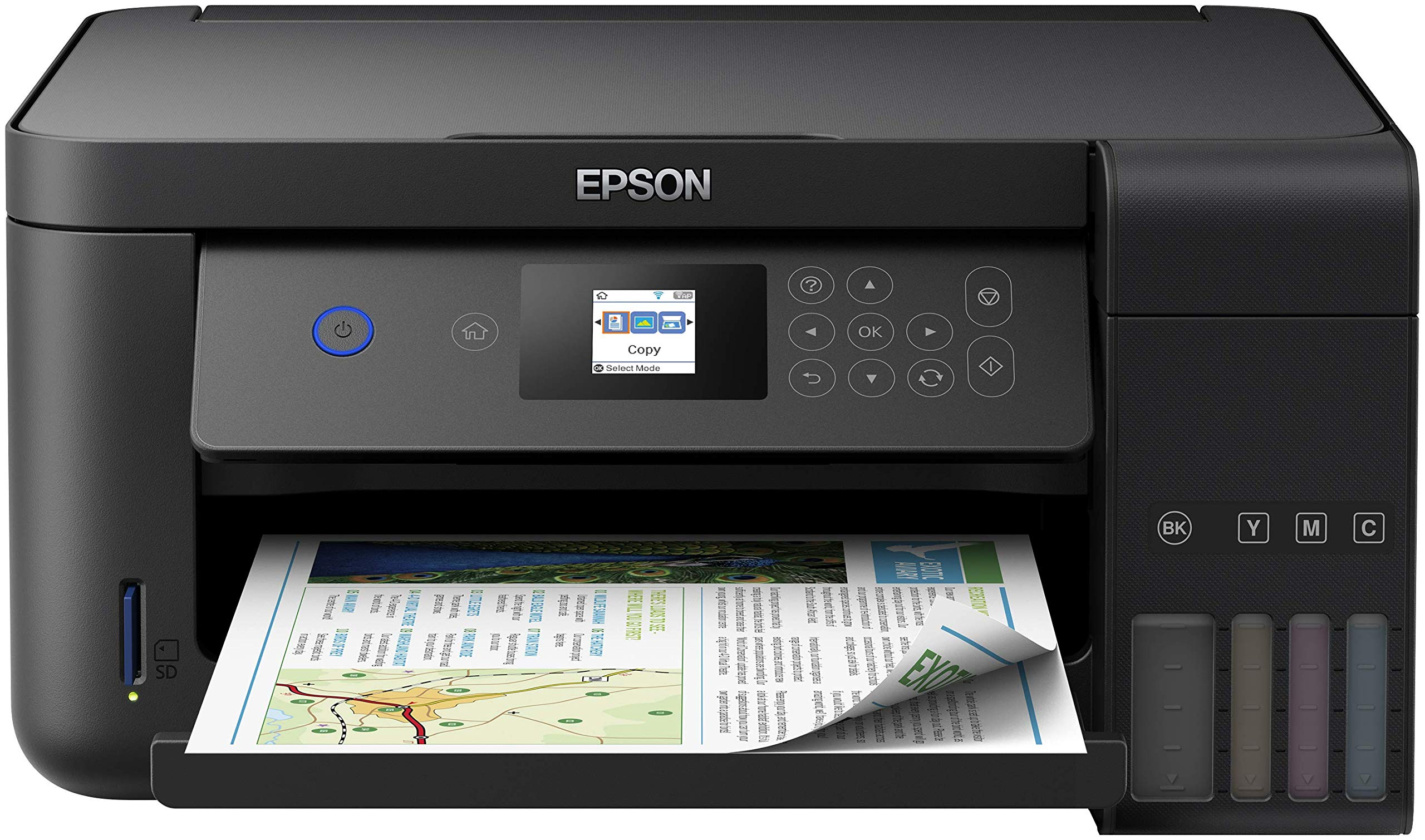 Epson EcoTank ET‑2750 5760 x 1440DPI Inyecci/ón de Tinta A4 33ppm Impresora multifunci/ón Inyecci/ón de Tinta, 5760 x 1440 dpi, 100 Hojas, A4, Impresi/ón Directa, Negro