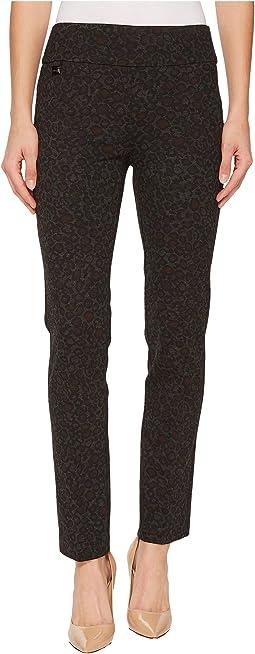 Lisette L Montreal - Jaguar Print Ankle Pants
