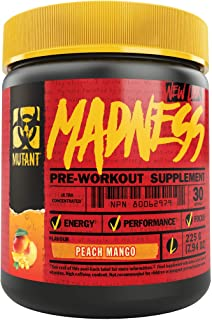 Mutant Madness - Redefines the Pre-Workout Experience and Takes it to a Whole New Extreme Level, Engineered Exclusively fo...
