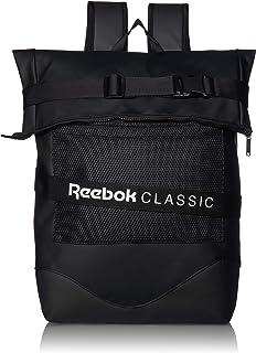 Reebok Unisex Classic Strap Backpack, Black, One Size