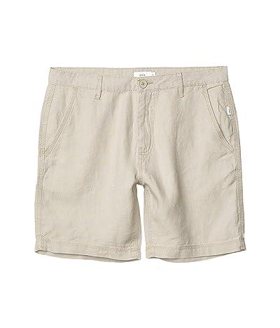 onia Austin Linen Shorts (Dune 1) Men