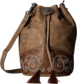 M&F Western Molly Bucket Bag