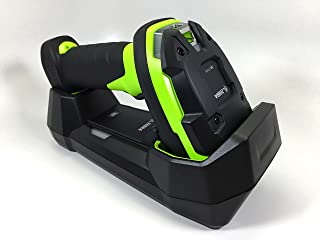 Zebra DS3678-SR Ultra-Rugged Cordless 2D/1D Barcode Scanner/Linear Imager Kit, Bluetooth, FIPS, Vibration Motor, Includes Cradle, Power Supply and Heavy-Duty Shielded 7 ft USB Cable (CBA-U42-S07PAR)