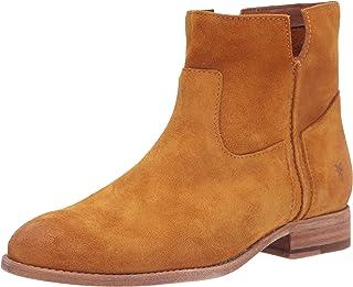 Frye Women's Melissa Slouch Bootie Ankle Boot, Mustard, 10