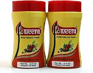 Meera Herbal Hairwash Powder (3.5 Oz) 2-Pack (2-Pack)