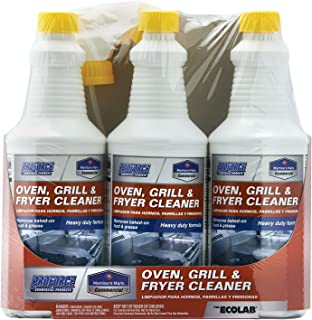 Member's Mark Commercial Oven, Grill and Fryer Cleaner, 32 oz., 3 Piece