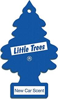 Little Tree New Car Scent Car Air Fresheners, Multicolor