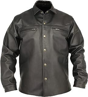 Men's Horsehide Leather Shirt