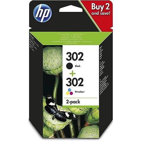Hp 302 Farbe Schwarz Tintenpatronen Hp Bürobedarf Schreibwaren