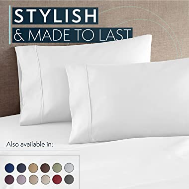 HC Collection Queen Bed Sheets Set - Bedding Sheets & Pillowcases w/ 16 inch Deep Pockets - Fade Resistant & Machine