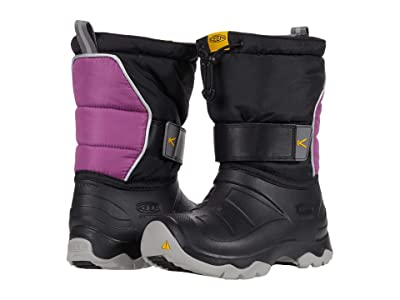 KEEN Kids Lumi Boot II WP (Little Kid/Big Kid) (Black/Wood Violet) Kid