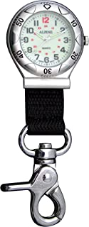 Glow in The Dark - Silver Belt Fob Watch with Nylon Strap
