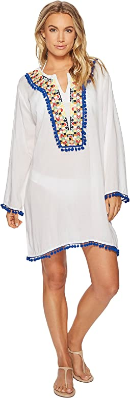 Bindya - Colored Mirror Tunic