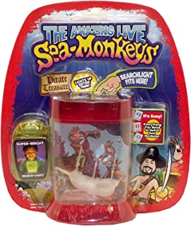 Big Time Toys Sea Monkeys Light Up Pirate Treasure Assorted Colors
