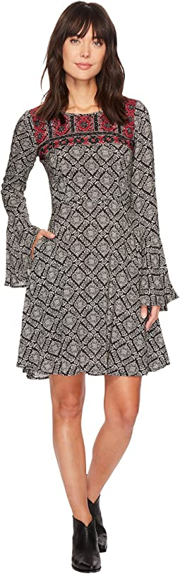Stetson - 1311 Paisley Print Swing Dress