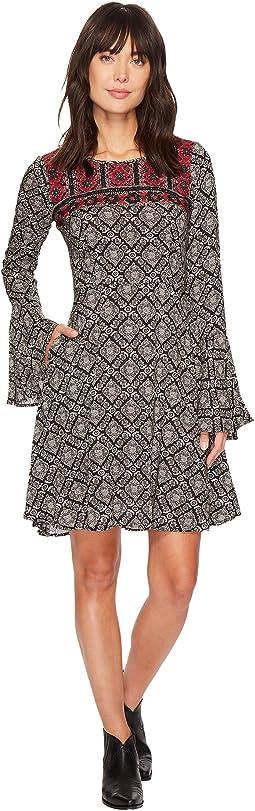 Stetson - 1311 Paisley Print Swing Dress