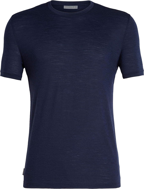 Icebreaker Spector SS Crewe Merino Shirt Maglietta Funzionale Uomo