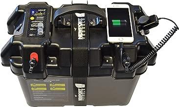 waterproof boat battery case