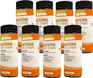 BOSIKE Ketone Test Strips 8 Bottles 800ct Monitor Keto Ketosis Precise Urine Test Strips for Ketogentic Diet Weightloss and Diabetics