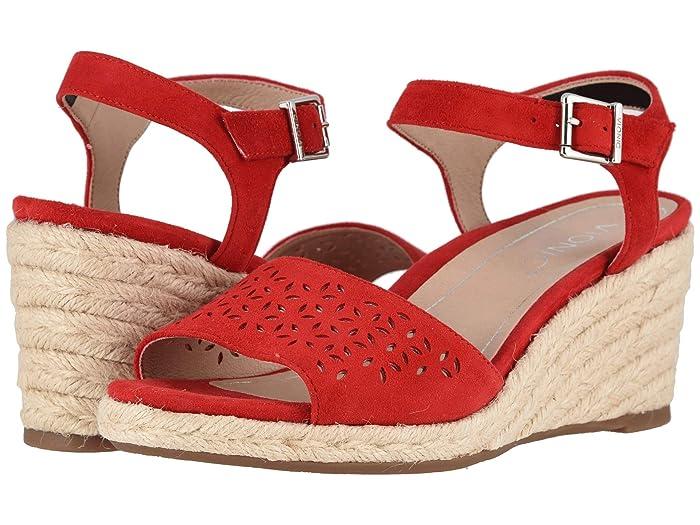 VIONIC  Ariel (Cherry) Womens Wedge Shoes
