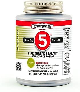 Rectorseal 25551 8-Ounce No. 5 Pipe Thread Sealant