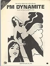 Sheet Music 1969 I'm Dynamite Peggy Sue 32