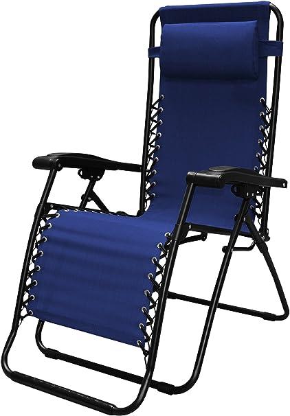 Amazon.com : Caravan Sports Infinity Zero Gravity Chair, Blue, 1-Pack :  Patio Recliners : Patio, Lawn & Garden