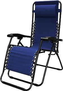 Caravan Sports Infinity Zero Gravity Chair, Blue, 1-Pack