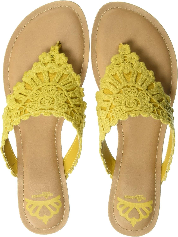 Fergalicious Womens Samba Flat Sandal