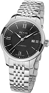 Epos - Reloj automático analógico para hombre con correa de metal - 411035