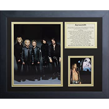 Legends Never Die Aerosmith Framed Photo Collage 11 x 14-Inch
