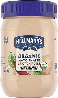 Hellmann's Organic Mayonnaise Spicy Chipotle 15 oz