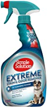 Simple Solution Extreme Pet Stain and Odor Remover | Enzymatic Cleaner with 3X..