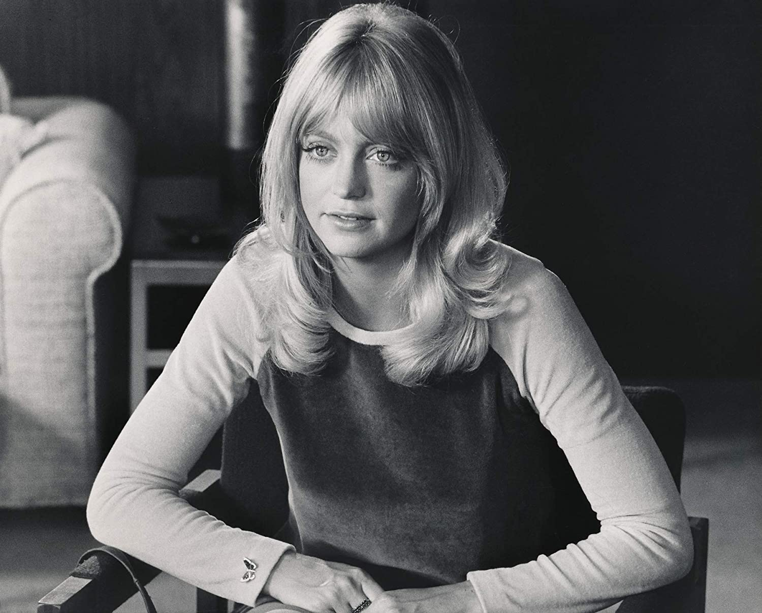 Amazon Com Celebrity Vault Candid And Young Goldie Hawn An Archival Print 24 X 20 Posters Prints