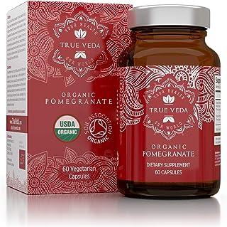 Pomegranate Extract Supplement - Ellagic Acid, High Punicalagins, USDA Certified Organic, Great Antioxidant...