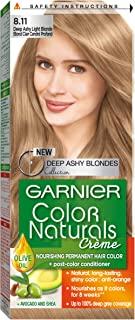 Garnier Color Naturals 8.11 Deep Ashy Light Blonde Hair Color
