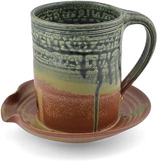 Holman Pottery Microwave Bacon Cooker, Desert Glaze
