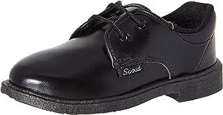 BATA Boy's Nova Scout Black Formal Shoes - 7 Kids UK/India (25 EU) (4216388)