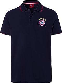 FC Bayern M/ünchen Poloshirt Classic gestreift rot//borde
