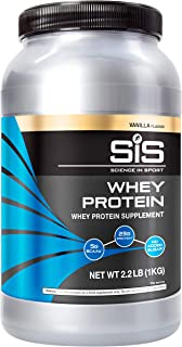 SCIENCE IN SPORT Whey Protein Powder, 22g Protein, 5g BCAAs, 2.5g Leucine, Increases Rate of Muscle Protein...