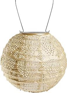 Allsop 31771 Soji Stella Pearl Wave Globe Solar Lantern