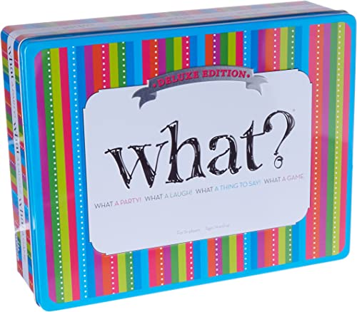 Party Game - What eluxe Edition - The Ultimate Laugh Out Loud Board Game by Outset Media