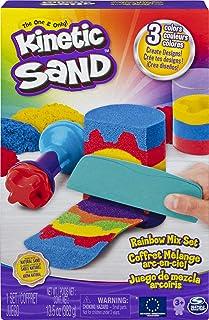 Kinetic Sand 6053691 KNS ACK Rainbow Mix Set GML Toy