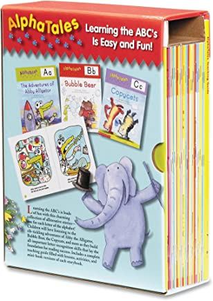 SHS0545067642 - Alpha Tales Learning Library Set by Scholastic