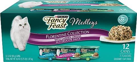 Purina Fancy Feast Elegant Medleys Florentine Collection Cat Food 1.02 Kg (12 Cans)