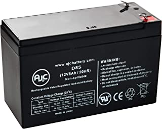 Mighty Max YTX9-BS 12V 8AH Battery for Go-Kart DAZON Raider 12V 2Amp Charger