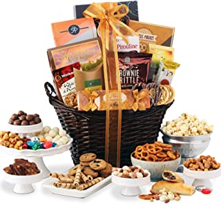 Broadway Basketeers Kosher Chocolate & Sweets Thinking of You Gourmet Gift Basket