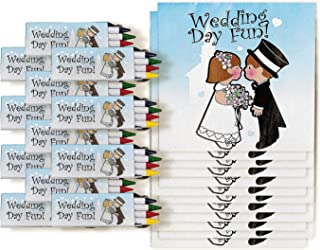 Fun Express Children's Wedding Activity Sets   12 Count   Great for Wedding Ceremonies, Party Giveaways, Themed Parties